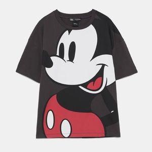 Zara DISNEY Mickey Mouse Shirt - US M [RARE]